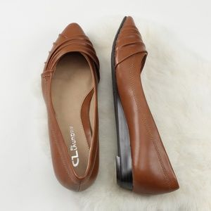 CL by Laundry Saleema Pointed Toe Wedge Flats